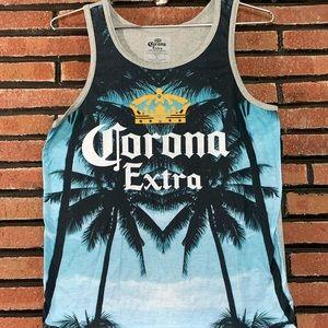Corona Extra Palm Tree Tank Top SZ-S